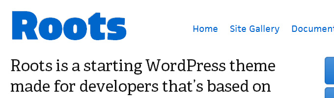 Roots WordPress Theme