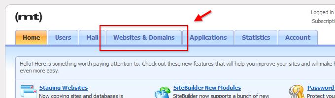 Open Websites & Domains