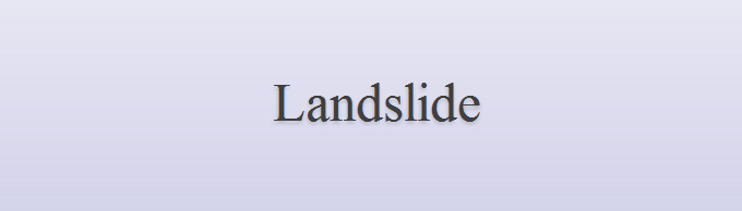Landslide