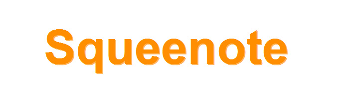 Squeenote