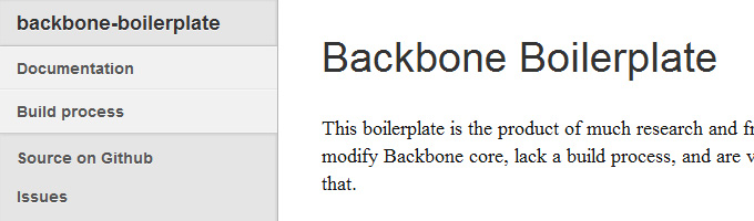 Backbone Boilerplate
