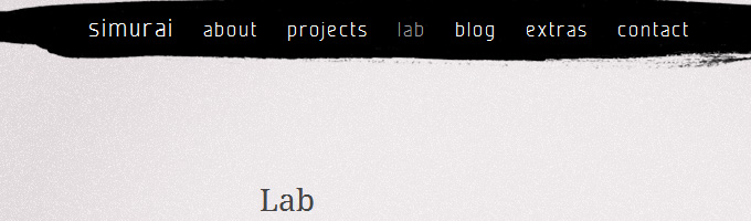 simurai's CSS lab