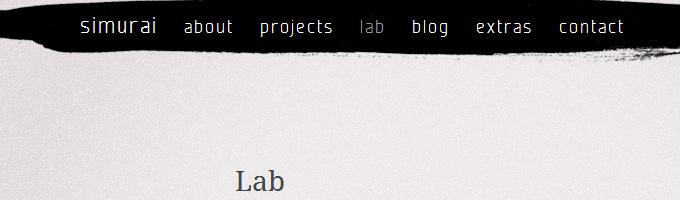 simurai's CSS lab