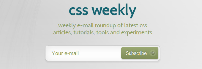 CSS Weekly