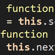JavaScript this