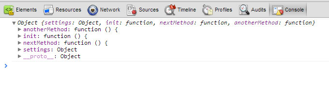 JavaScript this inside the module pattern