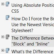 CSS E-Books