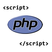 Calling a PHP File From HTML's Script Tag
